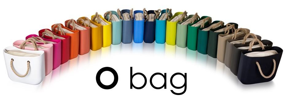 O Bag kabelky barevná řada