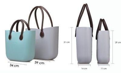 O Bag velikostní srovnání